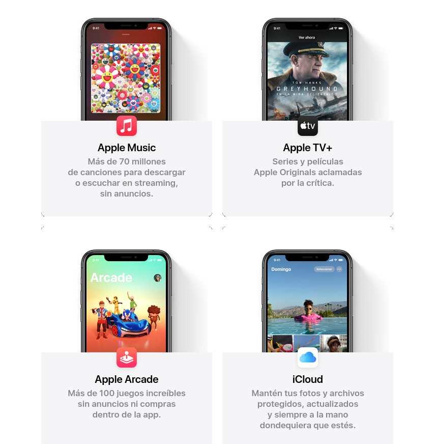 Apple One servicios