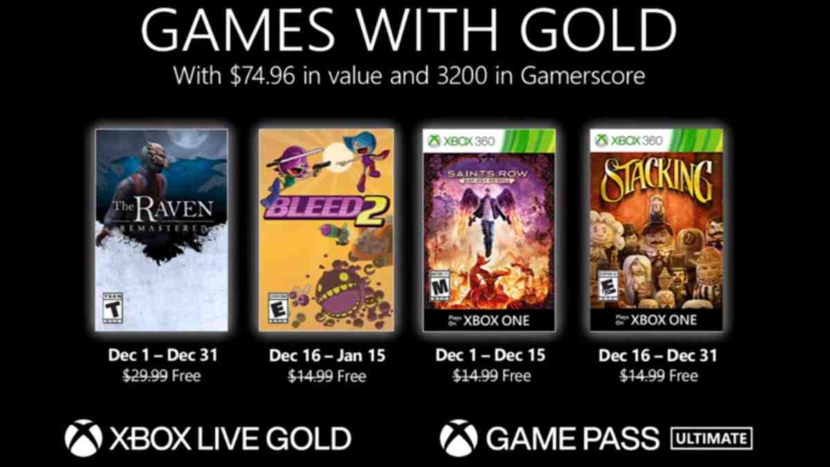 Games with Gold Dic