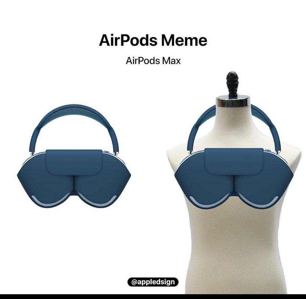 AirPods comparados con ropa interior