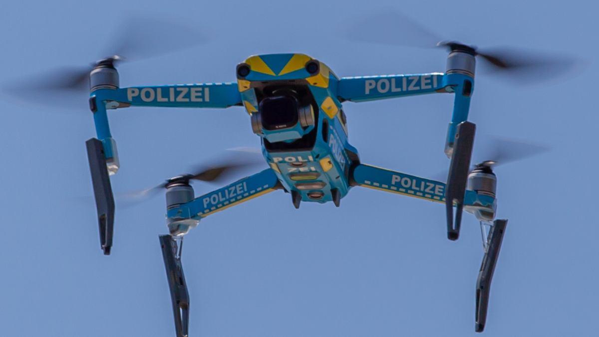 drones policía
