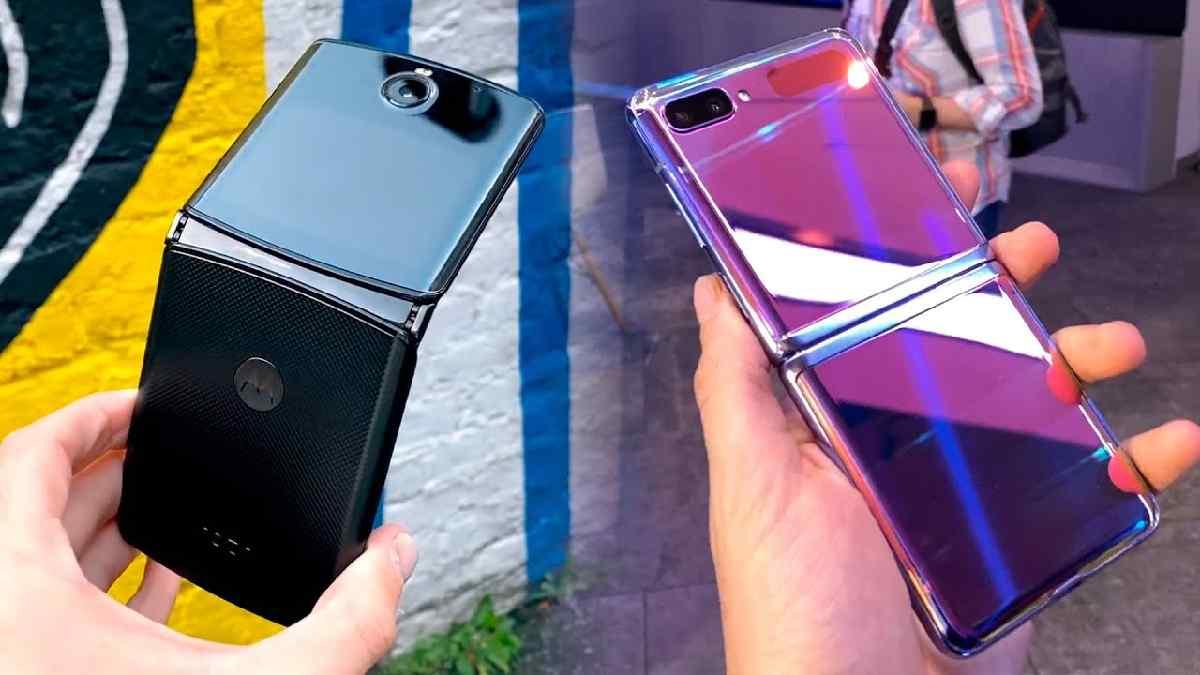 Galaxy Z Flip vs Motorola Razr 2020