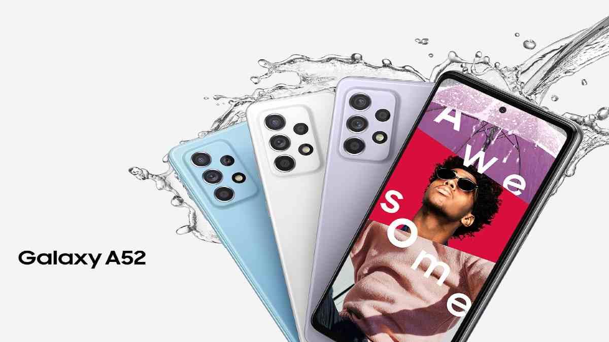 Samsung Galaxy A52 en Colombia