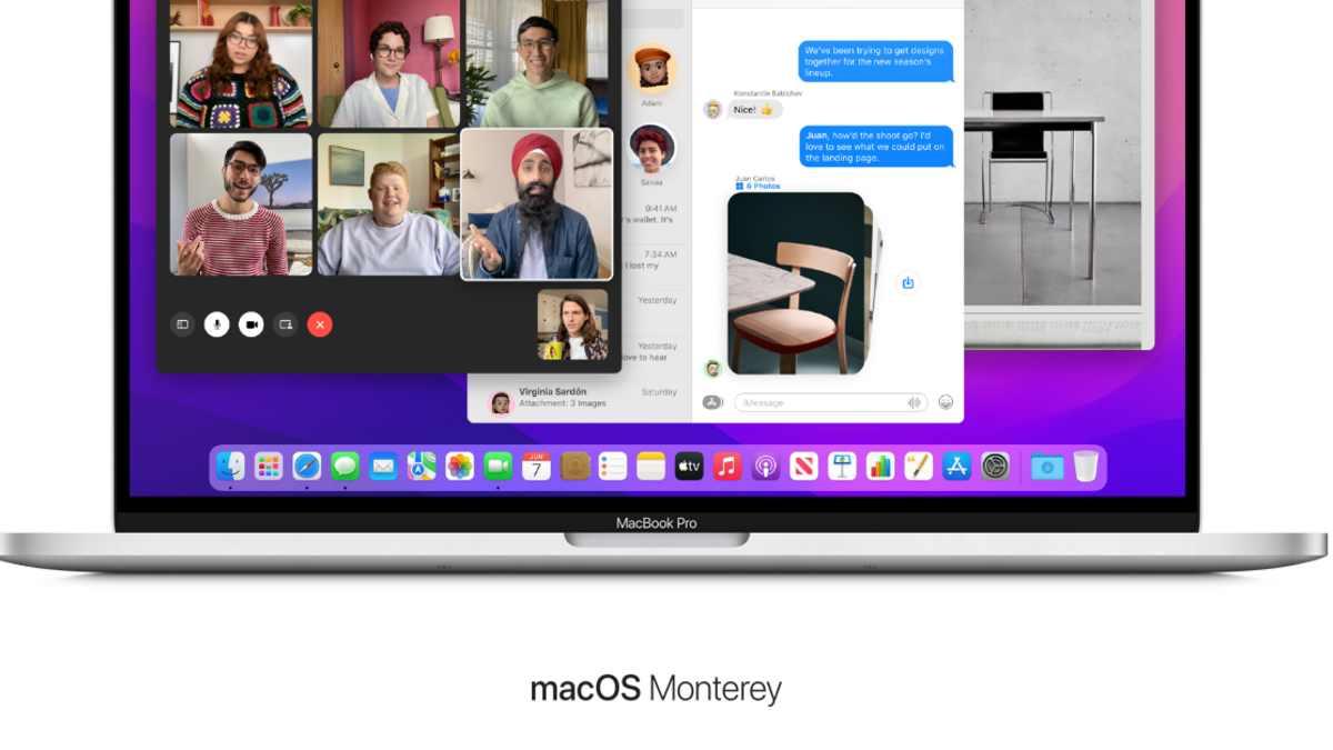 macOS 12 Monterey