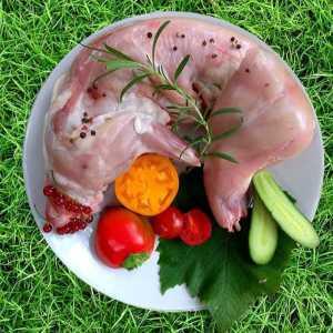Мясо кролика, тушка, купить с частной фермы FOLWARK.BY