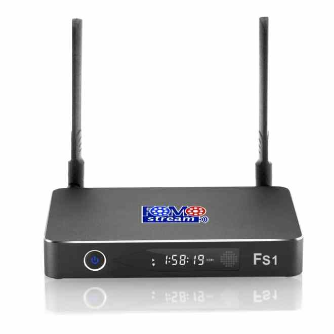 FOMOstream® FS1 Android TV Box