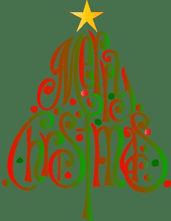 Merry Christmas Clip Art.Merry Christmas Clipart Christmas Tree 16