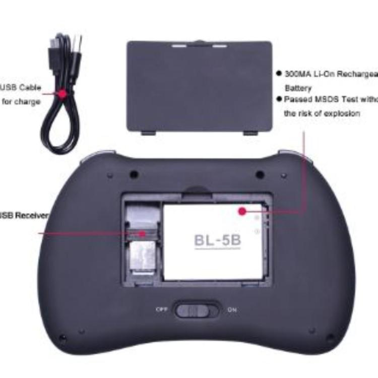 Wireless Mini Keyboard Remote
