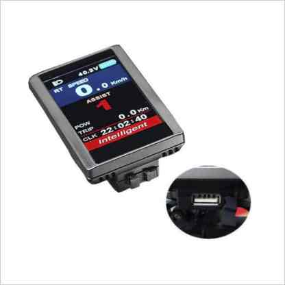 Ombouwset Middenmotor Bafang BBS Color Display 850C 02