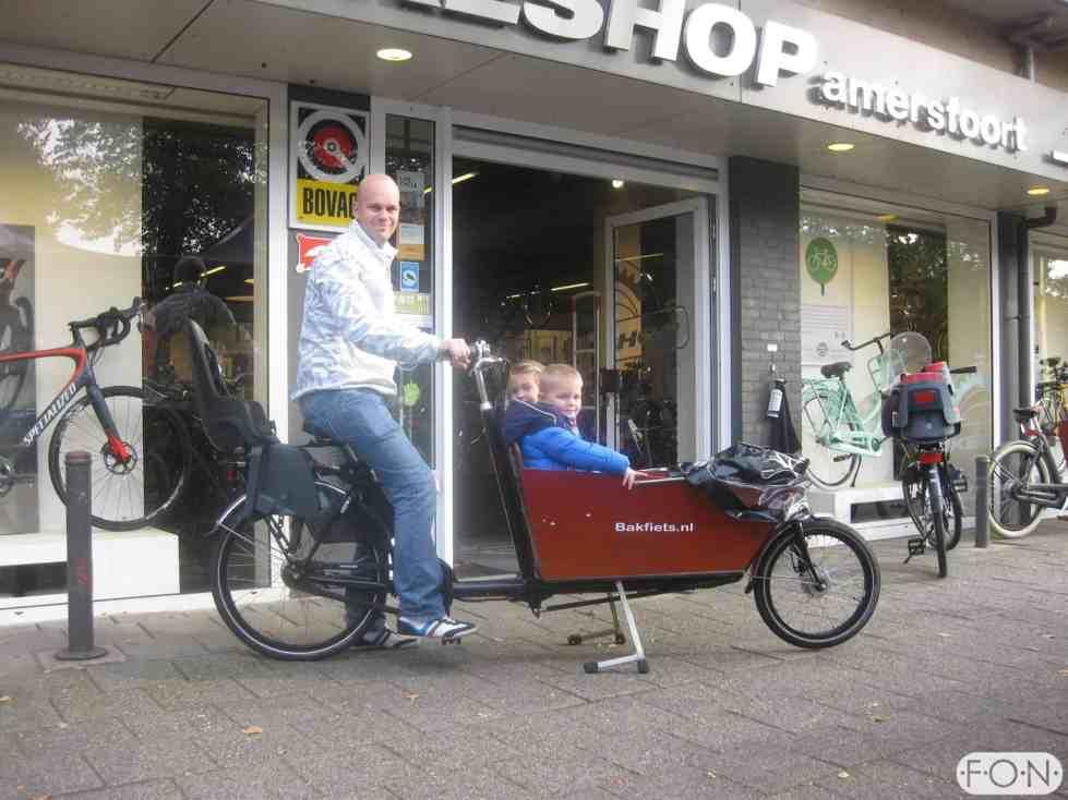 Bakfiets.nl met Bafang BBS ombouwset