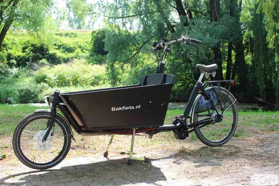 Bakfiets.nl Cargo Long elektrisch maken met Bafang Middenmotor FONebike Arnhem 2836