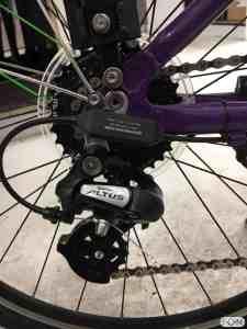 Frog Bikes kinderfiets met Bafang middenmotor ombouwset FON Arnhem
