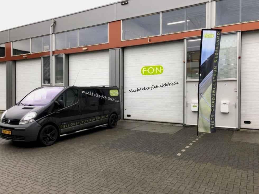 Markweg 3G Velp Fiets Ombouwcentrum Nederland FON