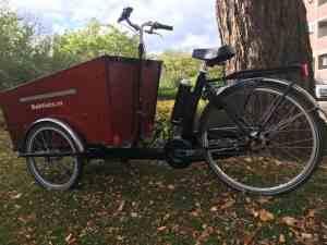 Bakfiets.nl Cargo Trike ombouwen tot ebike met Pendix eDrive 0349