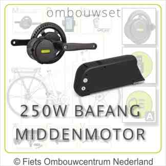 Ombouwset Middenmotor Bafang BBS 250W Frameaccu 01