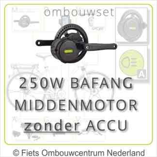 Ombouwset Middenmotor Bafang BBS01B 250W zonder accu 01