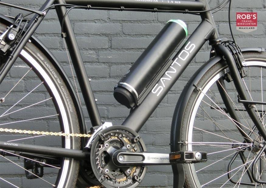 Santos Travelmaster ombouwen naar electrische fiets met Pendix van Rob's Bikecenter