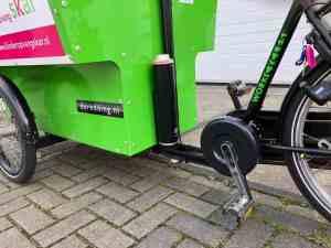 Workcycles De Redding bakfiets elektrisch maken met Pendix eDrive Middenmotor FON Arnhem 1867