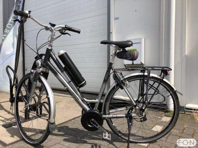 Koga Expression elektrisch maken met Pendix eDrive Middenmotor FON Arnhem 1259