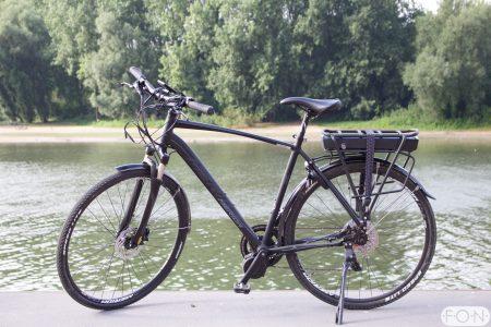 Merida Crossway XT ombouwen tot elektrische fiets met Bafang middenmotor FON Arnhem