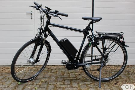 Nishiki elektrisch maken met Bafang Middenmotor FONebike Arnhem 3153