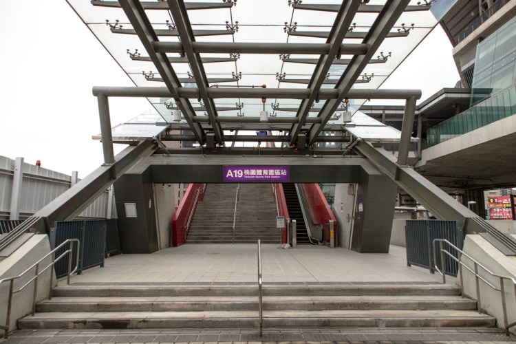 |桃園機場捷運|A19桃園體育園區站-附近熱門景點推薦、車站介紹