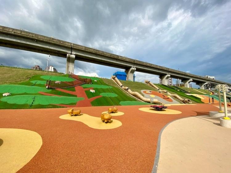新北大都會公園-台灣特色動物主題遊戲場 免費玩到飽!