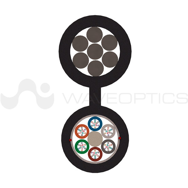 Loose-Tube-Figure-8-Slim-Cable-Front-View