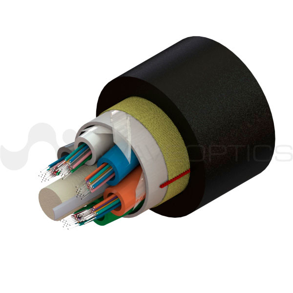 Single Jacket ADSS Slim Fiber Optic Cable