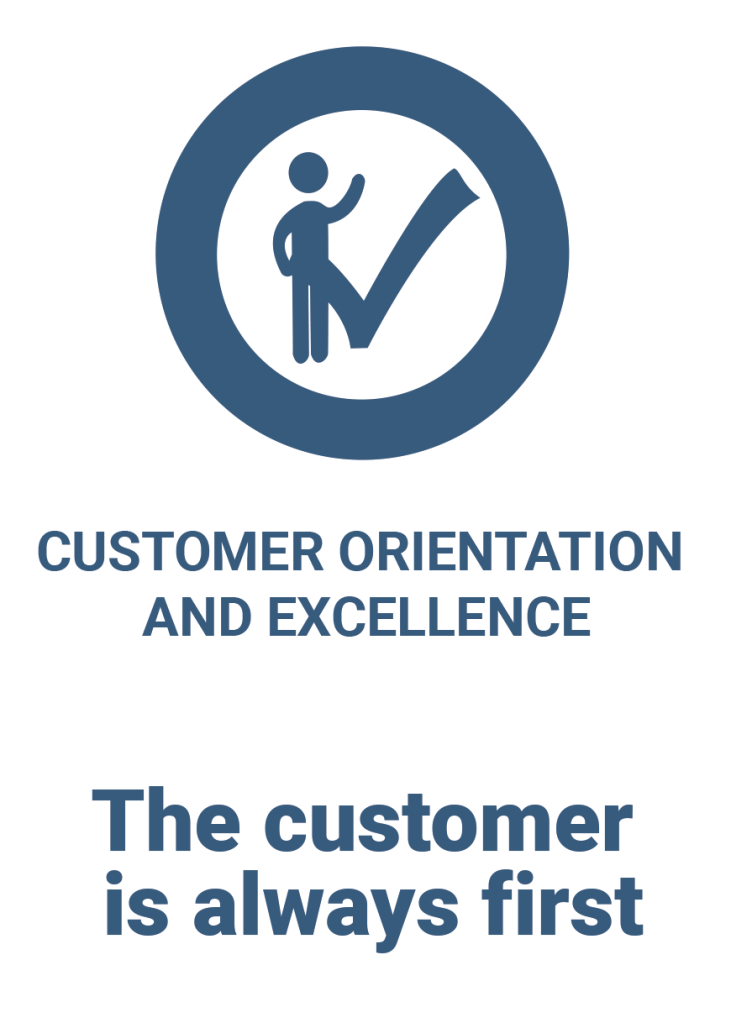 FONCS Values-Customer Orientation and Excellence