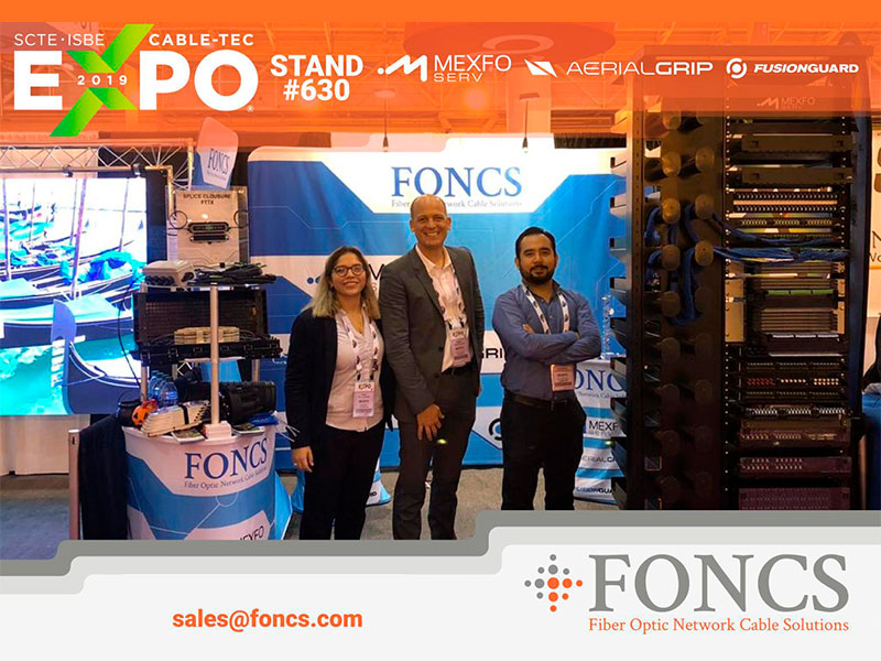 FONCS Booth SCTE Expo 2019