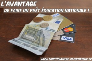 un prêt éducation nationale