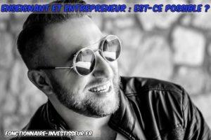 etre enseignant et entrepreneur