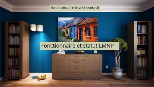 fonctionnaire et statut LMNP