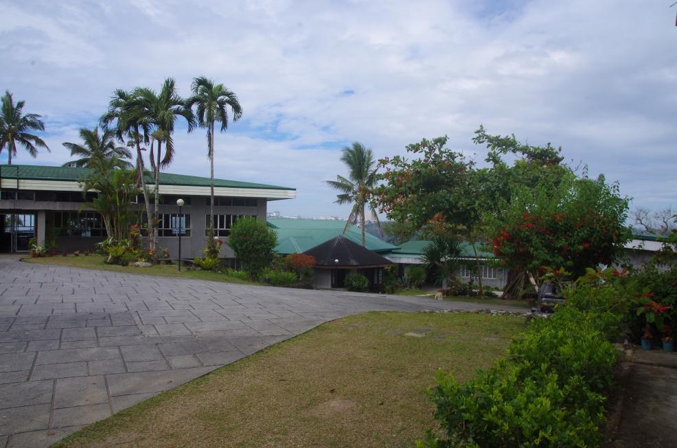 Mariapolis courtyard