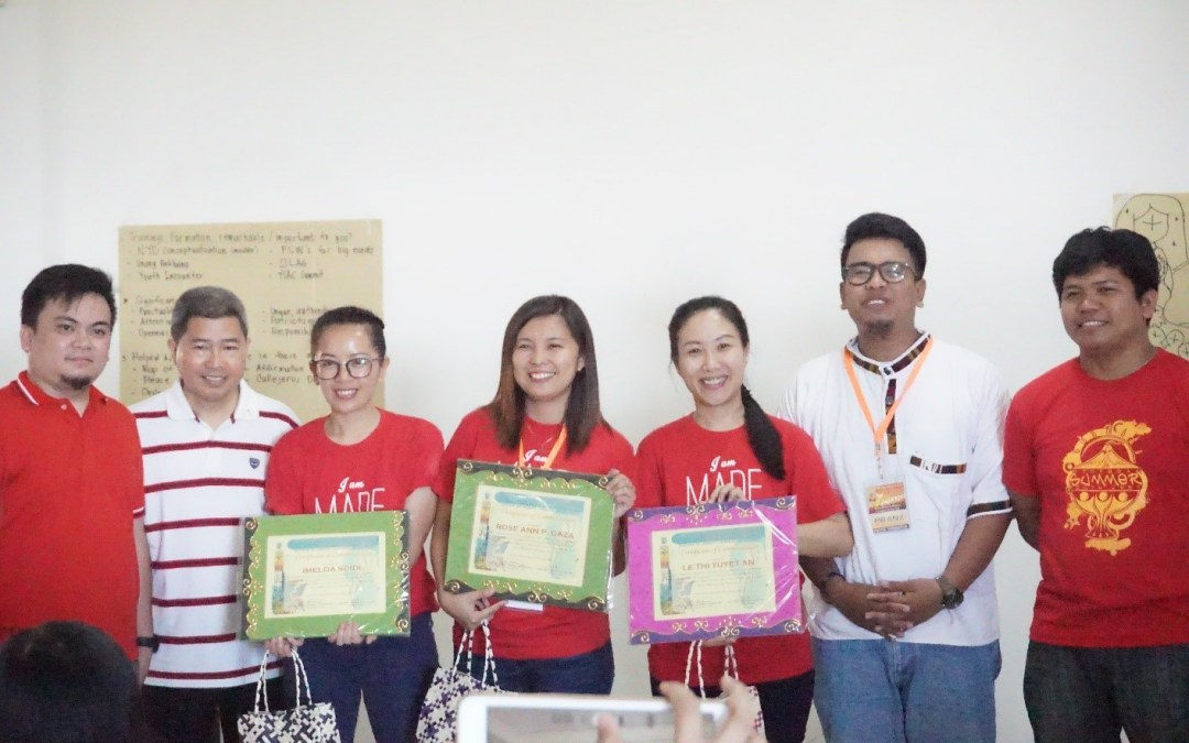 IFFAsia conducts Module Making Session in Legazpi: Pass it on – for the youth, by the youth!
