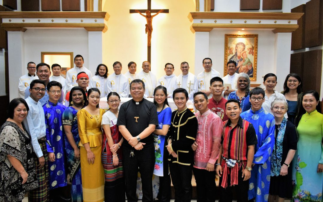 Launching Mass and Rite of Commitment of IFFAsia's Batch 13 participants