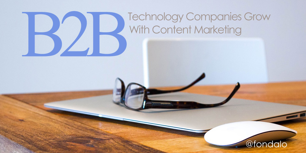 Content Marketing for B2B technology