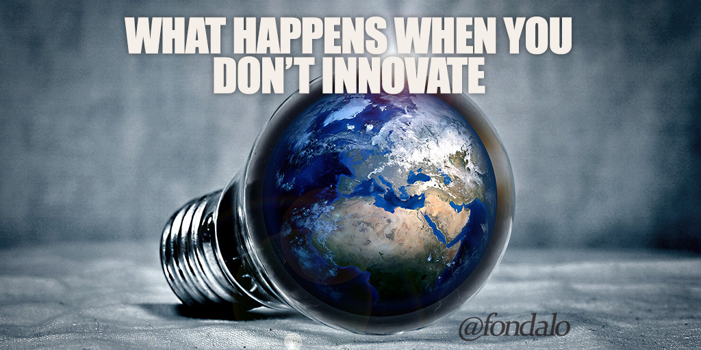 What Happens When You Don't Innovate
