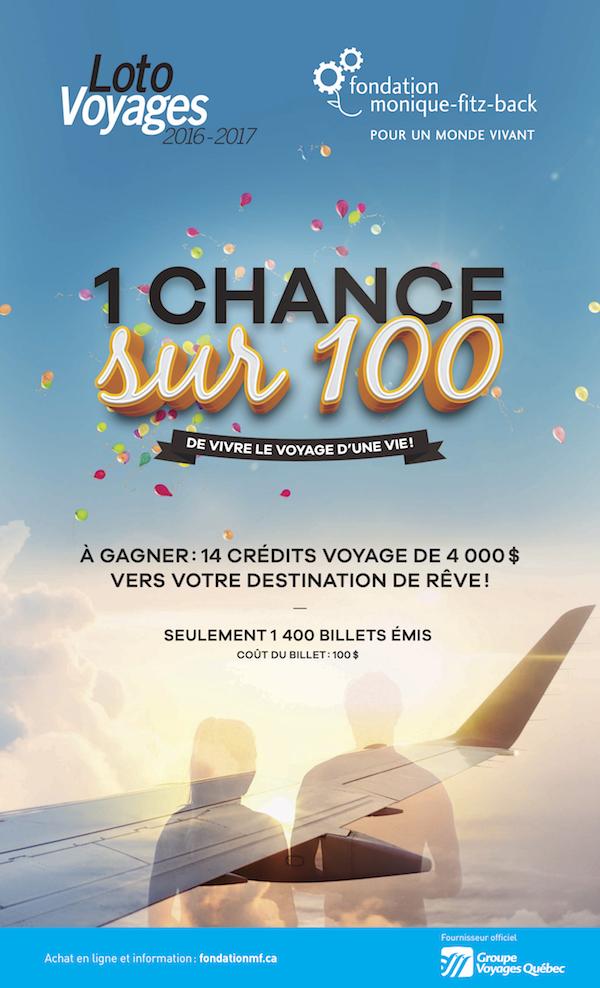 Affiche loto voyages 2016-2017