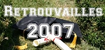 Retrouvailles de la cohorte 2007 (30 septembre 2017)