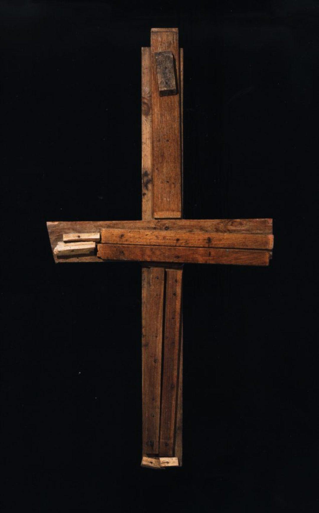 Jean-Pol Godart, sans titre, entre 1994 et 2004, bois et métal, 134 x 68 cm (photo Prodia)