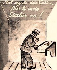 Dio ti vede, Stalin no: quelle elezioni che confermarono l'adesione dell'Italia al blocco occidentale.