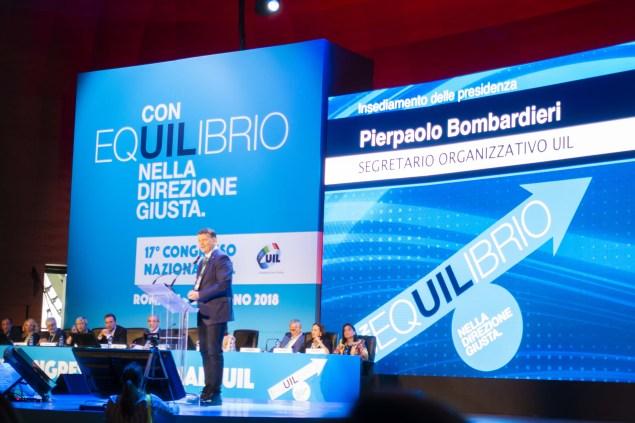 Pierpaolo Bombardieri, Segretario Organizzativo