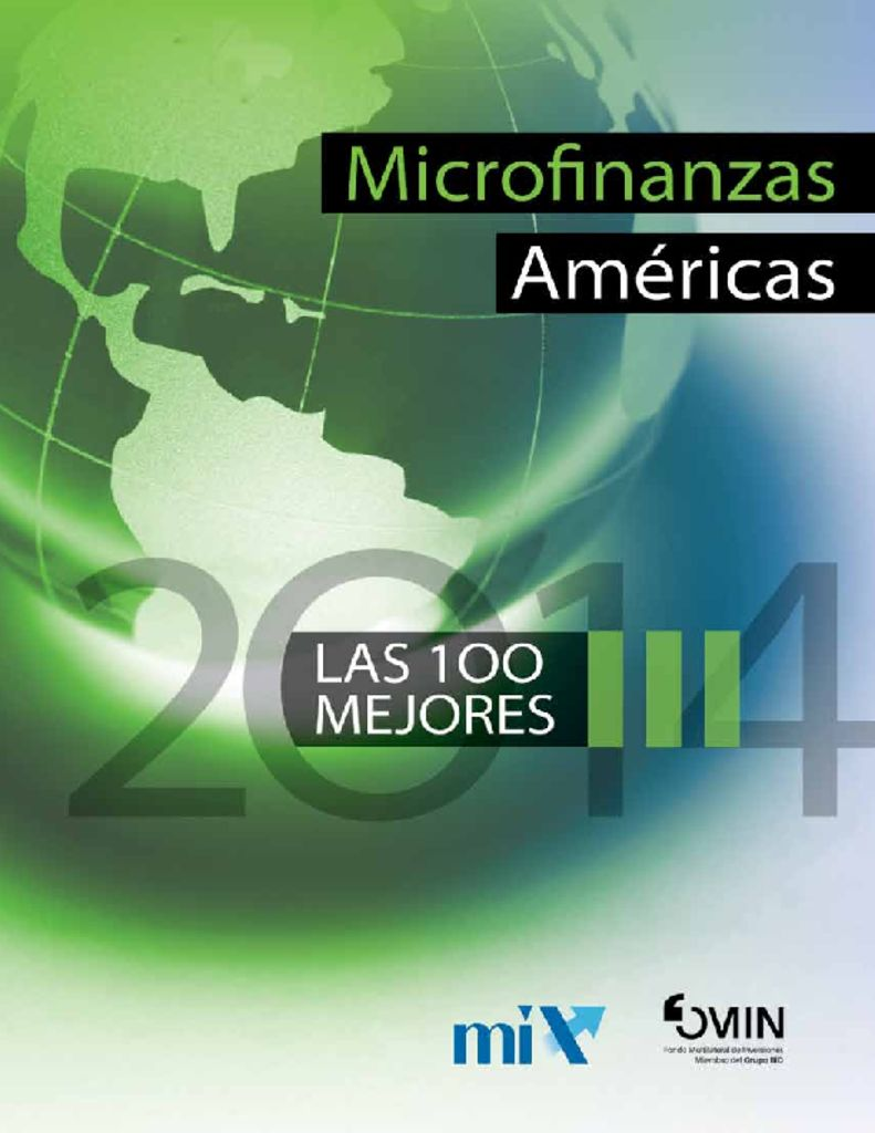 thumbnail of microfinanzas-americas-top100-2014