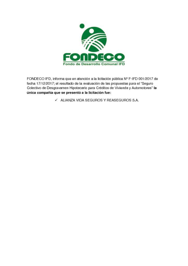 thumbnail of LICITACION PUBLICA SEGURO DE DESGRAVAMEN