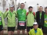 15 herois de fondistes penedès a la marató de Barcelona