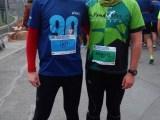 Dos atletes als 10k open de la Jean Bouin