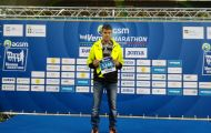 Bertran fa la marató de Verona