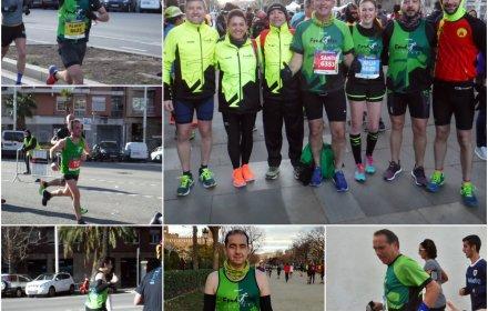 11 Fondistes a la Mitja Marató de Barcelona