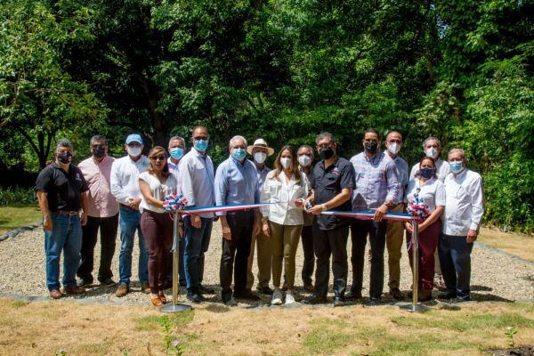 Inauguran planta de tratamiento de aguas residuales en Saltos de Jacagua